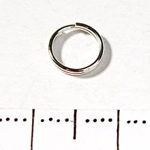 Фурнитура Кольцо заводное пружина 20гр/уп. d-7мм