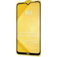 Защитное стекло 9D для Xiaomi Redmi Note 8 Полная проклейка