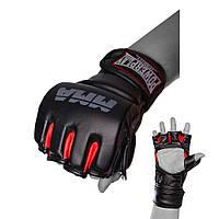 Рукавички для MMA PowerPlay 3053 Чорно-Червоні L/XL, фото 1