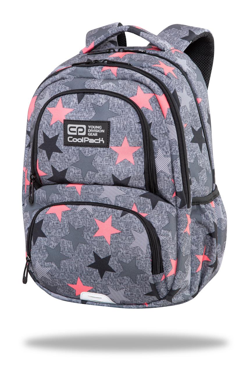 Рюкзак школьный с термокарманом CoolPack SPINER TERMIC FANCY STARS 41x31.5x15 см 23 л (C01176)