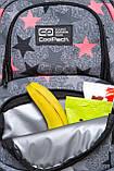 Рюкзак школьный с термокарманом CoolPack SPINER TERMIC FANCY STARS 41x31.5x15 см 23 л (C01176), фото 5