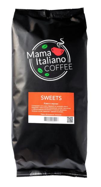 Кава Mama Italiano Coffee SWEETS 1 кг