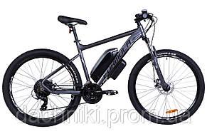 """Электровелосипед 29"""" F-1 500Вт 36В, 10.4Ач, макс.пробег 40км, 45 км/ч (черно-белый (м))"""