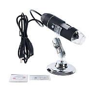 Цифровой USB микроскоп 1600 x DM-1600, 2 Мп, подсветка 8 LED