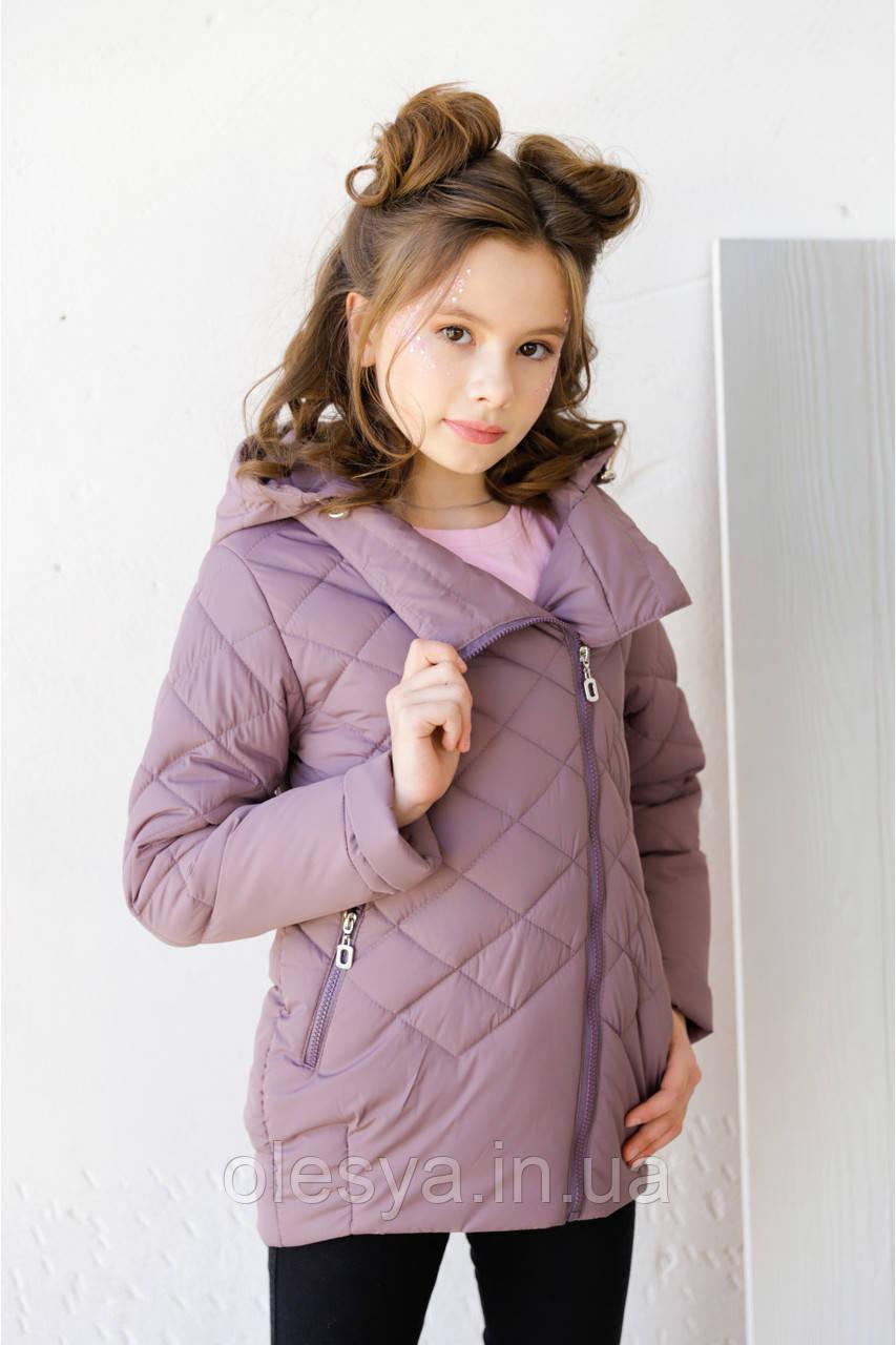Детская демисезонная куртка на девочку бренда Nui Very Мия Размер 122