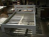 """Односпальне ліжко """"Талія"""" з дерева (масив бука), фото 8"""