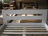 """Односпальне ліжко """"Талія"""" з дерева (масив бука), фото 9"""