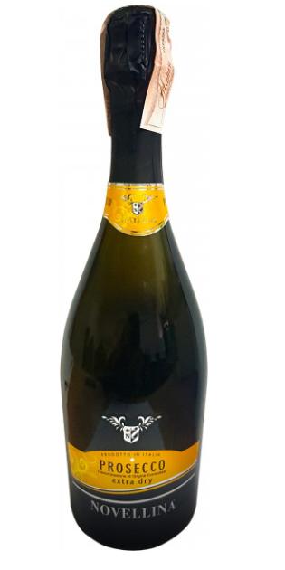 Игристое вино Novellina Prosecco DOC Extra Dry 0.75L (Новеллина Просекко Екстра Драй)