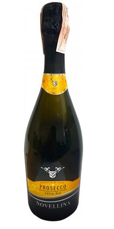 Игристое вино Novellina Prosecco DOC Extra Dry 0.75L (Новеллина Просекко Екстра Драй), фото 2