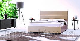 Кровать двуспальная с мягким изголовьем Верона