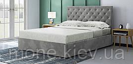 Мягкая кровать с подъемным механизмом Манхетен