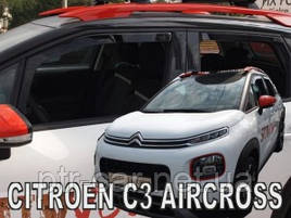 Дефлекторы окон (ветровики)  CITROEN C3 AIRCROSS  2017--