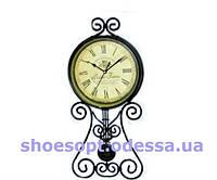 Роскошные настенные часы кованные в стиле Прованс