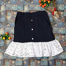 Подростковая юбка для девочки р. 134-152