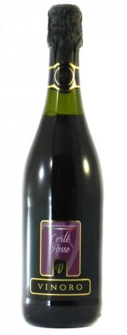 Вино червоне ігристе VINORO CORTE ROSSO 0,75л