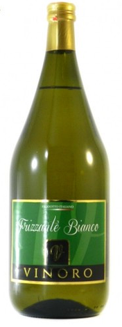 Вино біле ігристе VINORO FRIZZANTE BIANCO 1,5л, фото 2