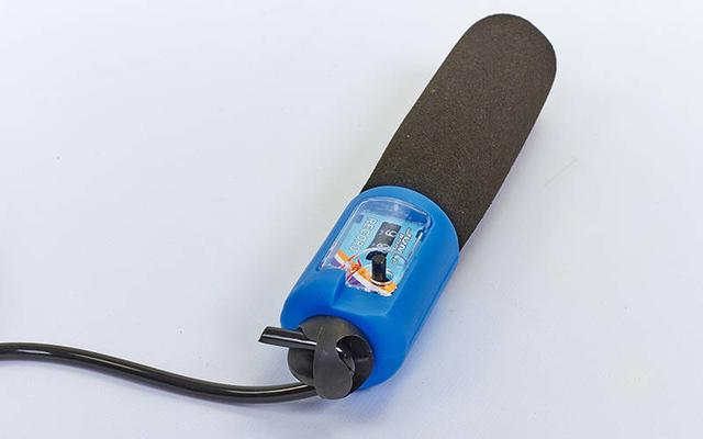 Скакалка з лічильником і PVC джгутом FI-2512 неопренові ручки