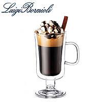 Чашка с двойным дном 250 мл, набор из 2 шт, стеклянная, прозрачная, серия Irish coffee, Luigi Bormioli