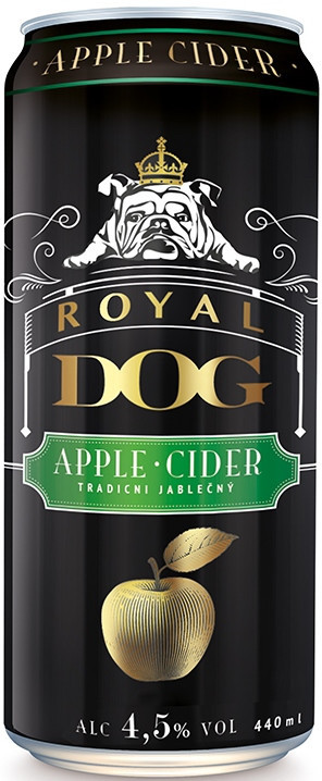 """Сидр """"Royal Dog"""" Apple Сидр, in can, 0.44 л"""