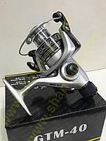 Котушка Eclipse GTM 400A (4+1) Алюмінієва шпуля + Ручка на кнопці