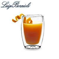 Набор стаканов с двойным дном 270 мл, стеклянные, прозрачные, универсальные, 2 шт, Luigi Bormioli