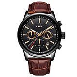 Lige Мужские часы Lige Standart Black, фото 2