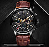 Lige Мужские часы Lige Standart Black, фото 3