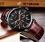 Lige Мужские часы Lige Standart Black, фото 4