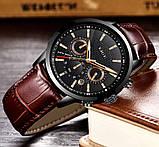 Lige Мужские часы Lige Standart Black, фото 5