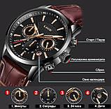 Lige Мужские часы Lige Standart Black, фото 7