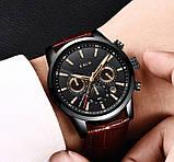 Lige Мужские часы Lige Standart Black, фото 9