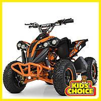 Электромобиль квадроцикл BAMBI HB-EATV1000Q-7S оранжевый