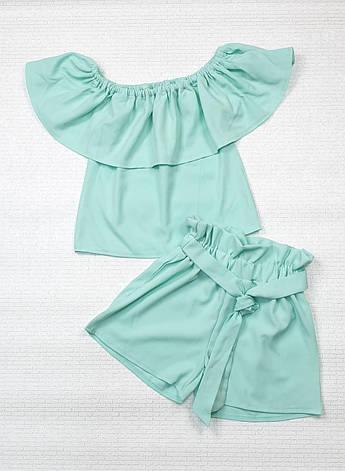 Комплект топ и шорты для девочки р. 122-134, фото 2