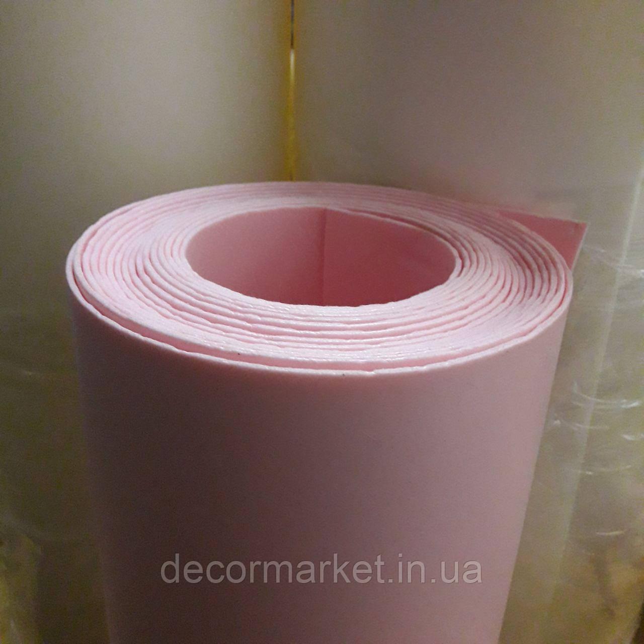 Изолон 1мм розовый