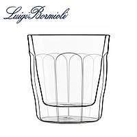 Набор стаканов с двойным дном 320 мл, стеклянные, прозрачные, универсальные, 2 шт
