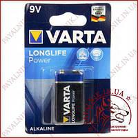 Батарейка Varta Longlife power 9V 6LP3146 Крона (MN1604)