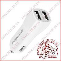 Автомобильное зарядное Kruger&Matz dual USB 2.1A