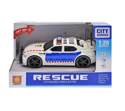 Машинка Rescue полиция WY500D, звук свет