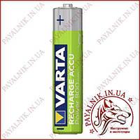 Аккумулятор VARTA  AAA 800mAh (1 штука) оригинал