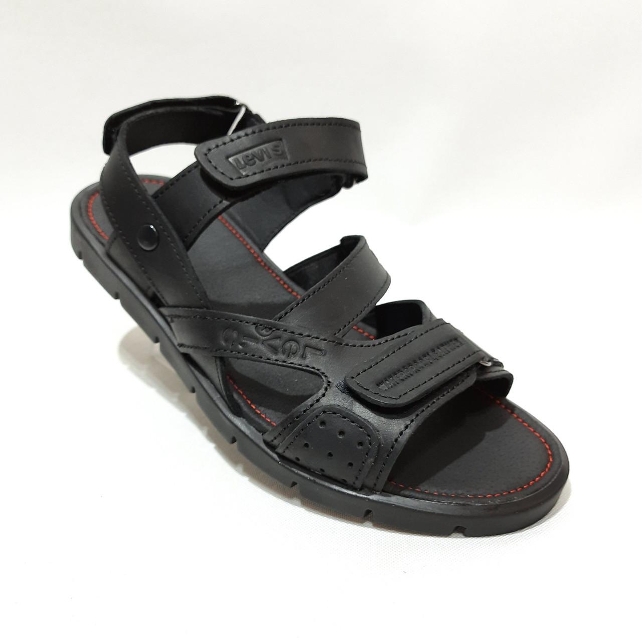44,45 р  Мужские кожаные сандалии отличного качества