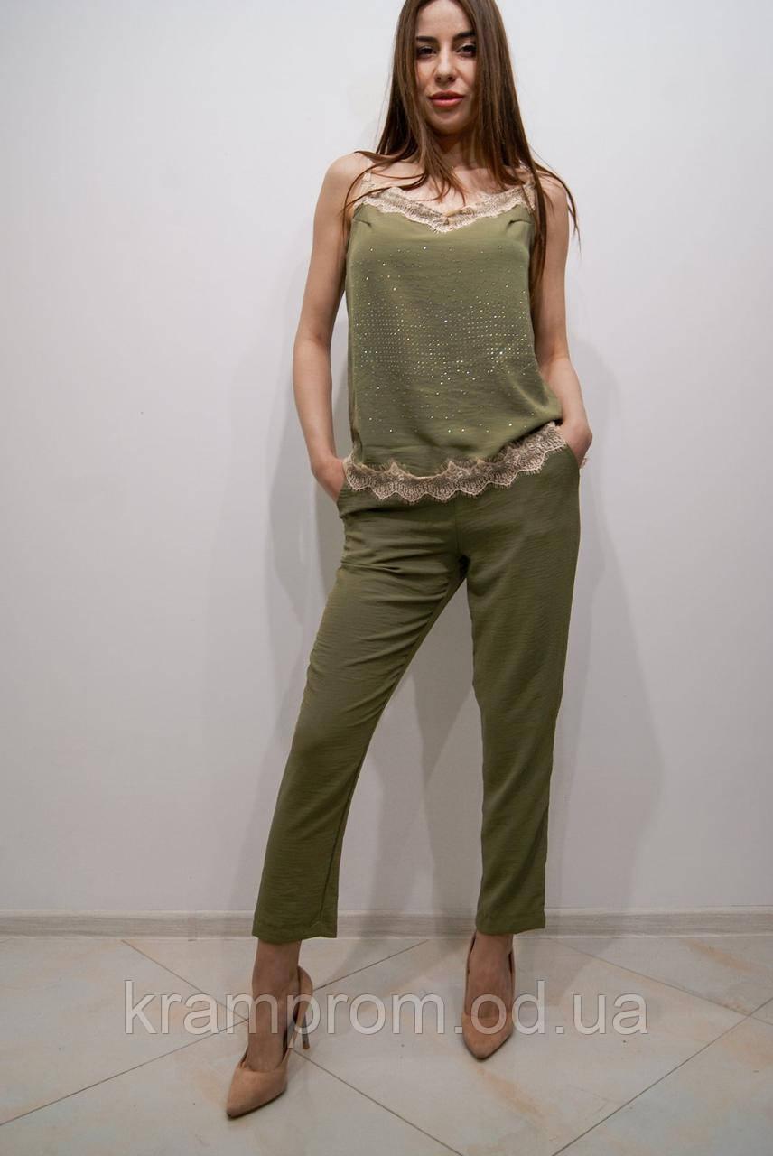 Модный домашний женский летний костюм