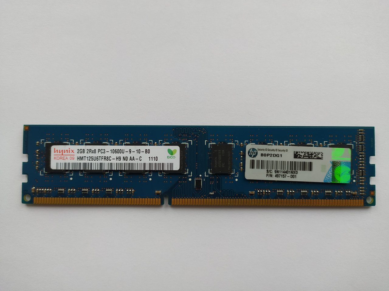 Оперативная память Hynix DDR3 2Gb 1333MHz PC3-10600U (HMT125U6TFR8C-H9) Б/У