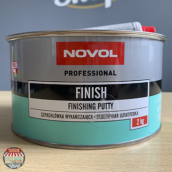 Шпатлевка отделочная Novol Finish, 2 кг