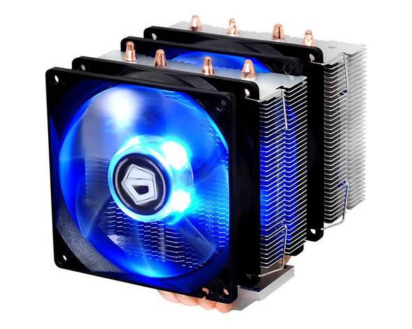 Кулер процессорный ID-Cooling SE-904TWIN, Intel: 2011/1366/1151/1150/1155/1156, AMD:, фото 2