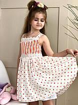 Детский летний сарафан в стиле Dolce &Gabbana на рост от 92 до 160 см, фото 2