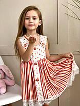 Детский летний сарафан в стиле Dolce &Gabbana на рост от 92 до 160 см, фото 3