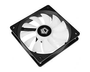 Вентилятор ID-Cooling XF-12025-ARGB-TRIO (3pcs Pack), 120х120х25мм, 4-pin PWM, чорний c білим, фото 2