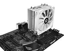 Кулер процессорный ID-Cooling SE-224-W, Intel: 2066/2011/1150/1151/1155/1156, AMD: AM4, 154x120x73 мм, фото 3