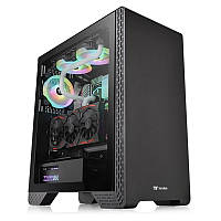Корпус Thermaltake S300 Tempered Glass Black (CA-1P5-00M1WN-00) без БП