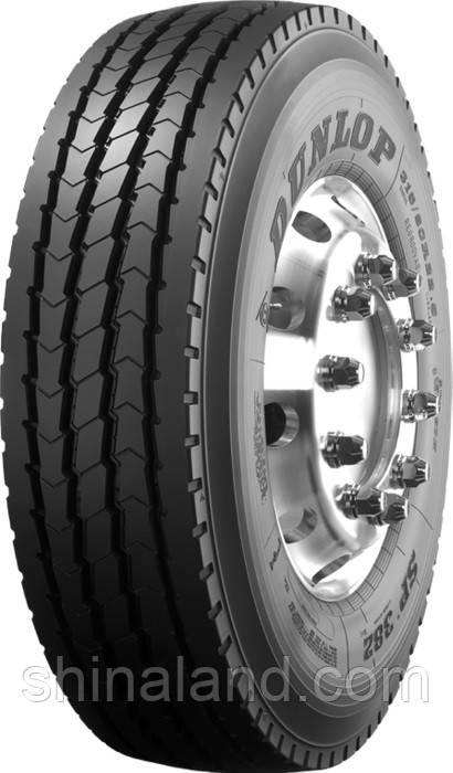 Грузовые шины Dunlop SP382 (рулевая) 385/65 R22,5 160158160К158L Рулевая, смешаное ON/OFF